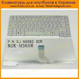 Клавиатура ACER 4710 RU Black NSK-H370R RU