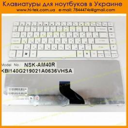Клавиатура Packard Bell NV49C RU White 9Z.N1P82.40R