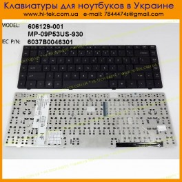 Клавиатура HP CQ620 RU Black 606129-251