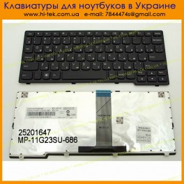 Keyboard RU for LENOVO IdeaPad S206 S110 S200 ( RU Black )